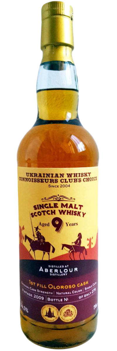Aberlour Ukrainian Whisky Connoisseurs Club's Choice 9 Years Old фото