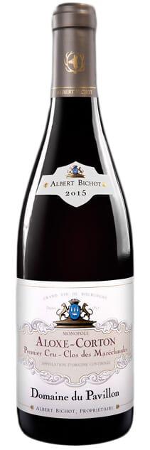2014 Albert Bichot Domaine du Pavillon Aloxe-Corton Premier Cru Clos des Marechaudes Monopole фото