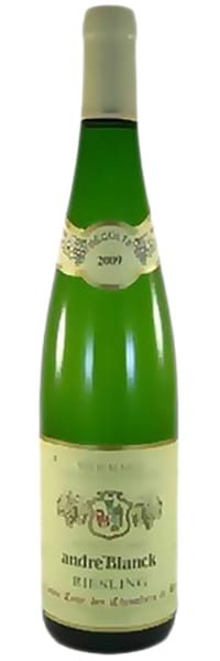 2009 Andre Blanck Riesling фото