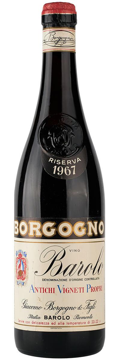 1967 Borgogno Barolo фото