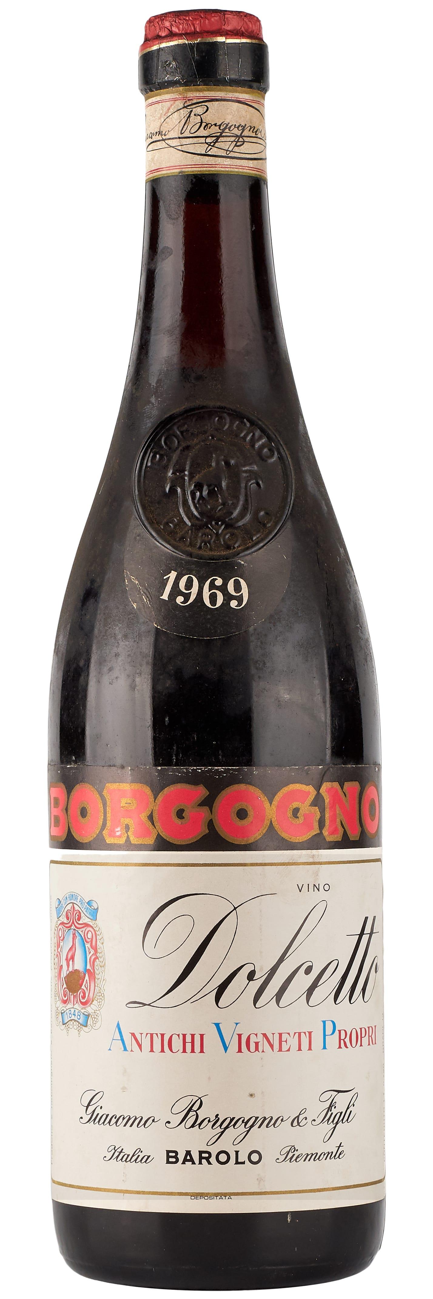 1969 Borgogno Dolcetto фото