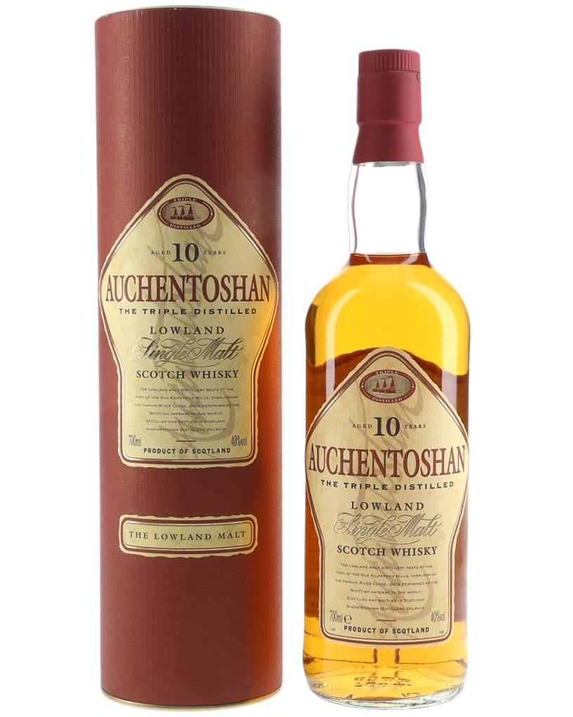 Auchentoshan 10 Years Old 1990s фото