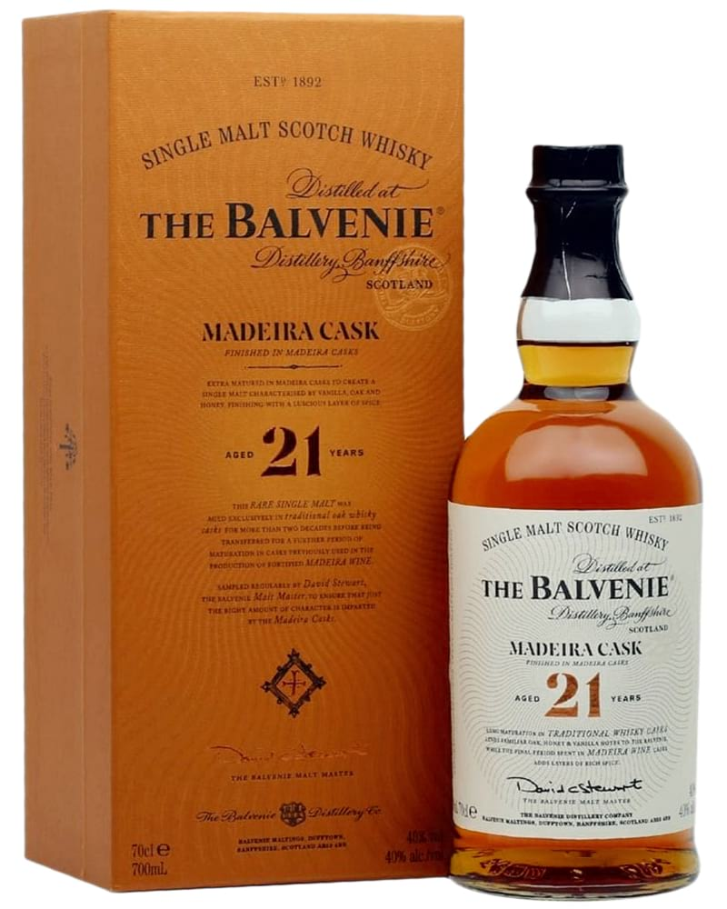 Balvenie Madeira Cask 21 Years Old фото