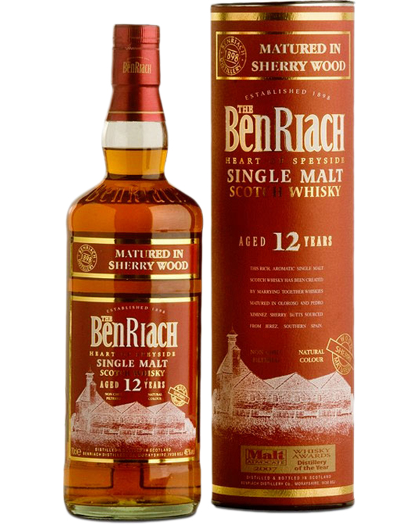 Benriach Sherry Wood 12 Years Old фото