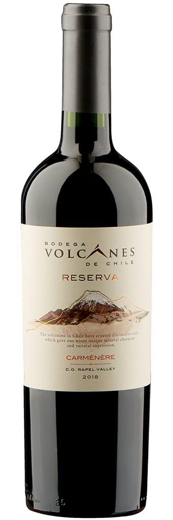 Bodega Volcanes Carmenere Reserva фото