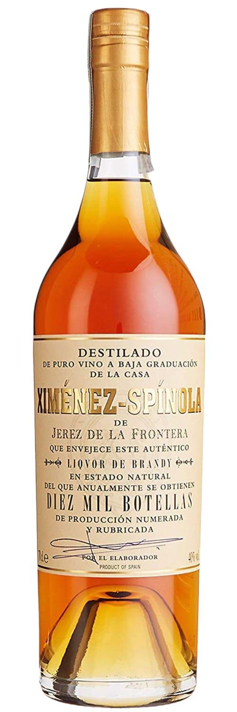 Bodegas Ximenez-Spinola Liquor de Brandy Diez Mil Botellas фото