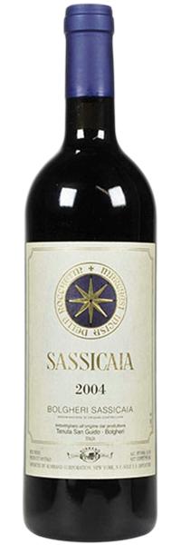 2004 Sassicaia Bolgheri Sassicaia DOC фото