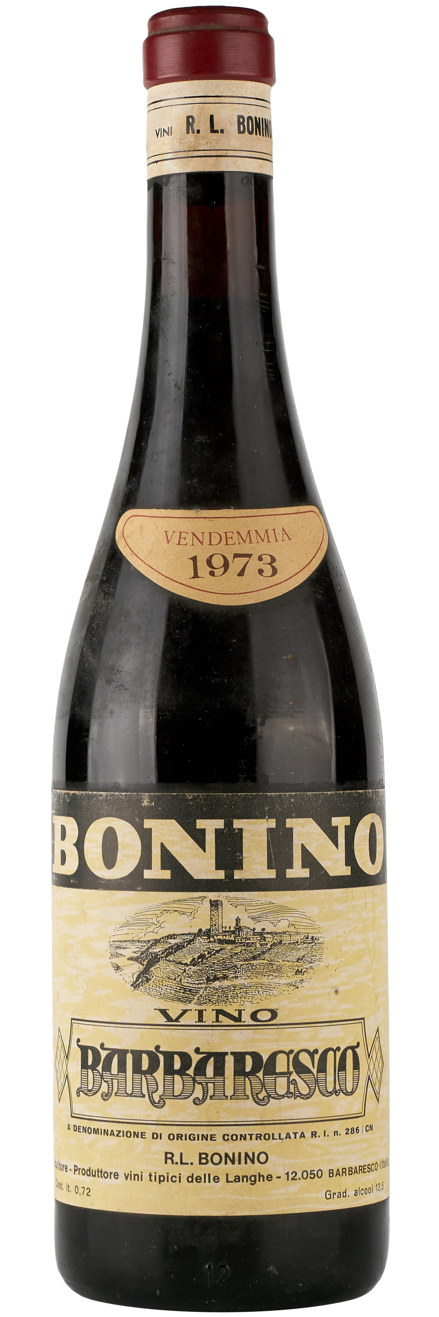1973 Bonino Barbaresco фото