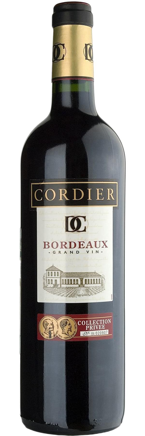 2007 Cordier «Collection Privee» Bordeaux фото
