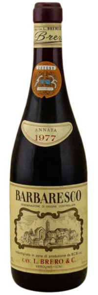 1977 Brero Barbaresco фото