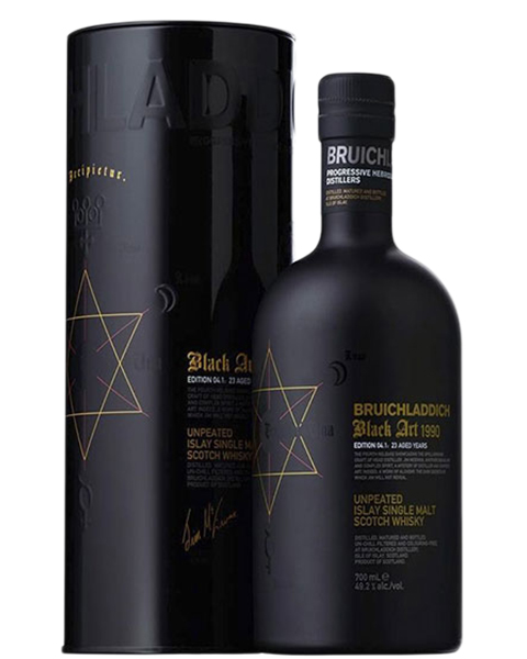 1990 Bruichladdich Black art 4.1 23 Years Old фото