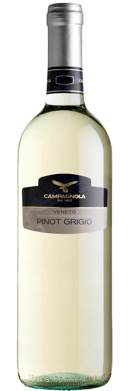 2016 Campagnola Pinot Grigio delle Venezie фото