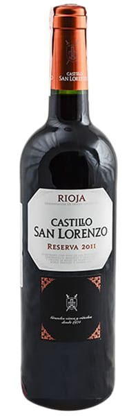 2011 Castillo San Lorenzo Reserva Rioja фото