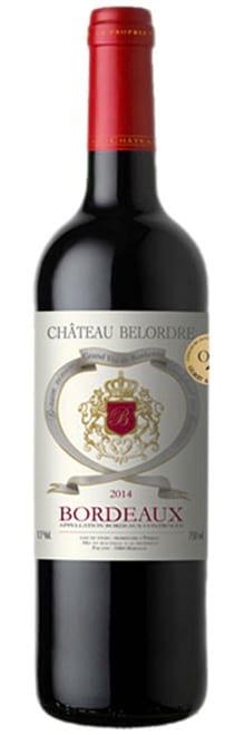 2014 Chateau Belordre Bordeaux фото