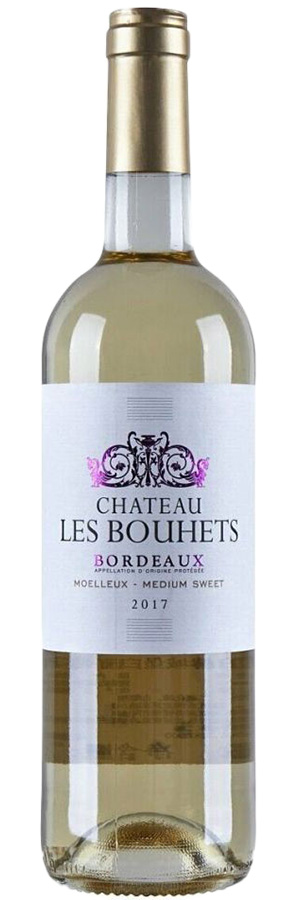 2017 Chateau Les Bouhets Bordeaux Medium Sweet фото