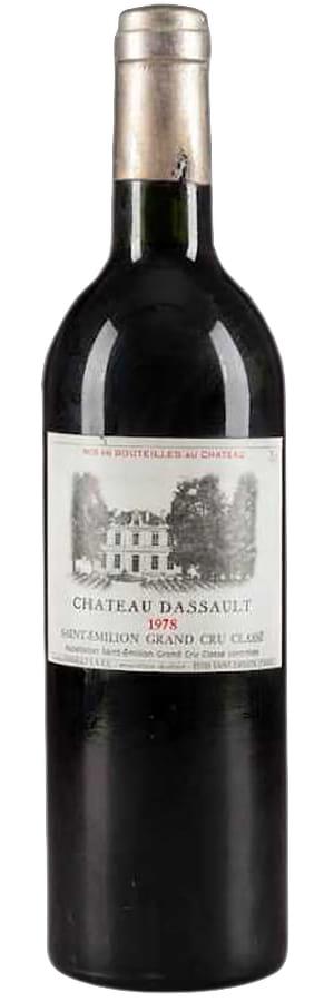 1978 Chateau Dassault Saint-Emilion Grand Cru фото