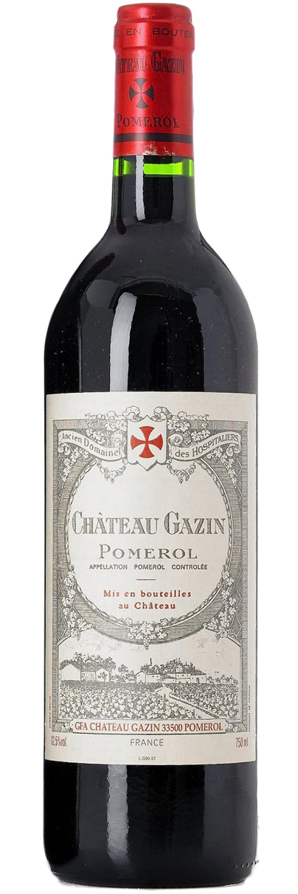 2015 Chateau Gazin Pomerol фото