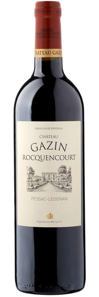 2012 Chateau Gazin Rocquencourt Pessac-Leognan Rouge фото