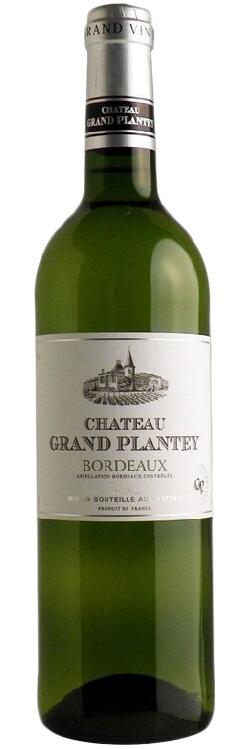 Chateau Grand Plantey Blanc Bordeaux фото