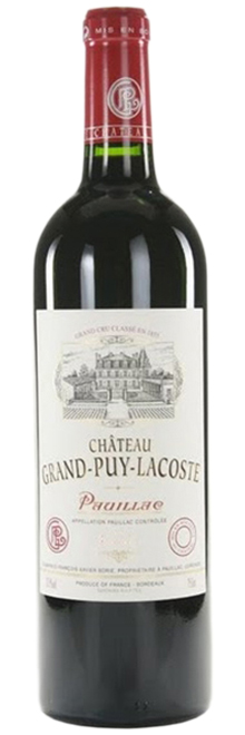 2004 Chateau Grand-Puy-Lacoste Pauillac AOC фото