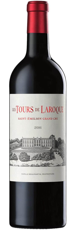 2016 Chateau Laroque «Les Tours de Laroque» Saint-Emilion Grand Cru фото