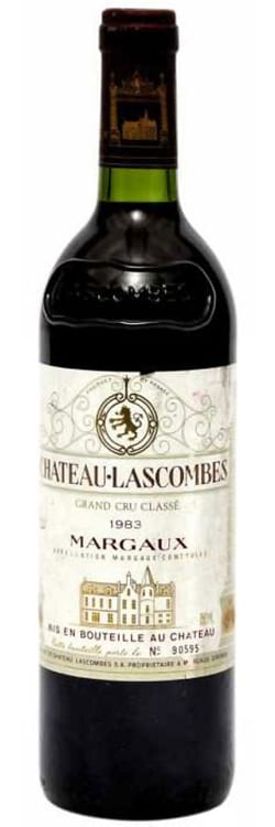 1983 Chateau Lascombes Margaux фото