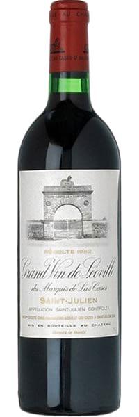 1982 Chateau Leoville Las Cases Grand Vin de Leoville Saint-Julien фото