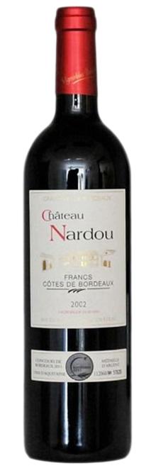 2002 Chateau Nardou Francs Cotes de Bordeaux фото
