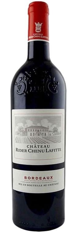 2014 Chateau Rider-Chenu-Lafitte Bordeaux фото
