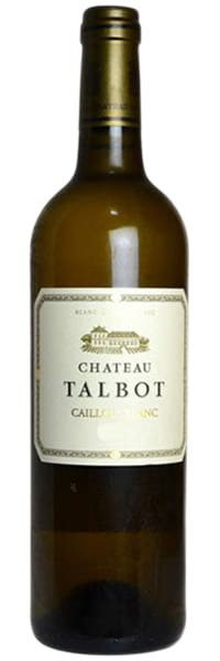2012 Chateau Talbot Caillou Blanc du Chateau Talbot Bordeaux AOC фото