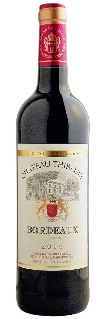 2016 Chateau Thibault Bordeaux фото