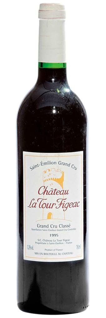 1995 Chateau La Tour Figeac Saint-Emilion Grand Cru AOC 1.5 liter фото