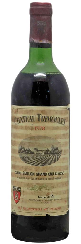 1978 Chateau Trimoulet Saint-Emilion AOC 1.5 liter фото