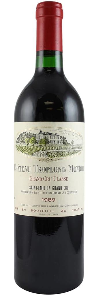 1989 Chateau Troplong Mondot Saint-Emilion Grand Cru фото