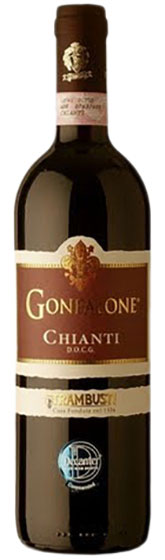2017 Chianti Trambusti Gonfalone 1.5 liter фото