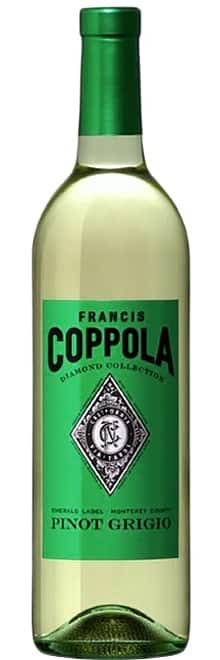 Francis Ford Copppola Diamond Collection, Emerald label, Pinot Grigio фото