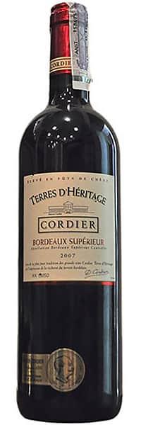 2007 Cordier Terres D'Heritage Bordeaux Superieur фото