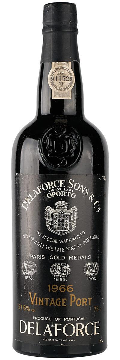 1966 Delaforce Vintage Porto фото