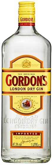 Gordon's London Dry Gin Export 1 liter фото