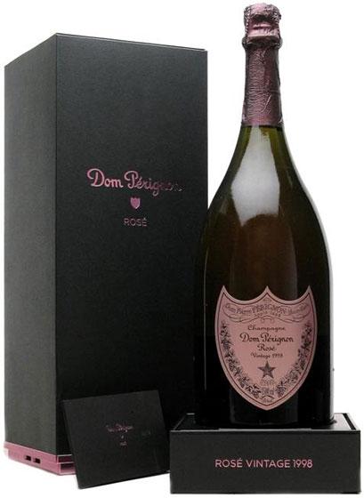 1998 Dom Perignon Rose Vintage фото