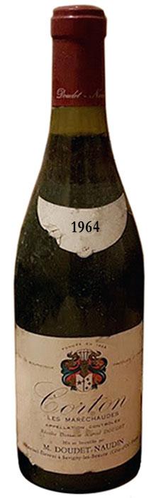 1964 Doudet-Naudin Corton фото