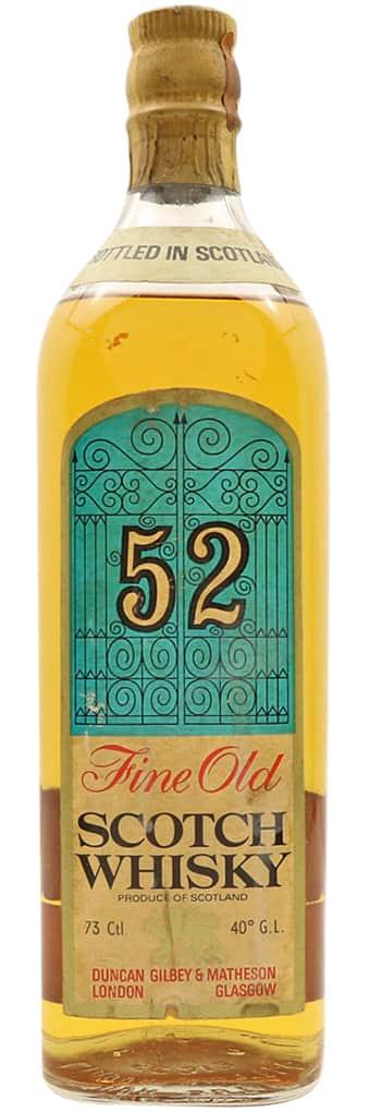 Duncan, Gilbey & Matheson 52 Fine Old Scotch фото