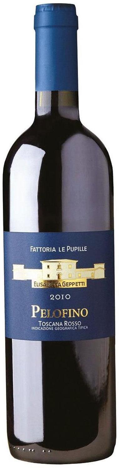 2010 Fattoria Le Pupille Pelofino Rosso Toscana фото