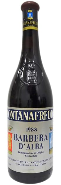 1988 Fontanafredda Barbera d'Alba фото