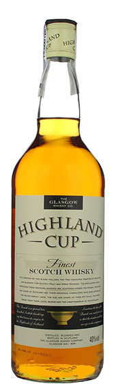 Glasgow Whisky Limited Highland Cup 3 Years Old фото