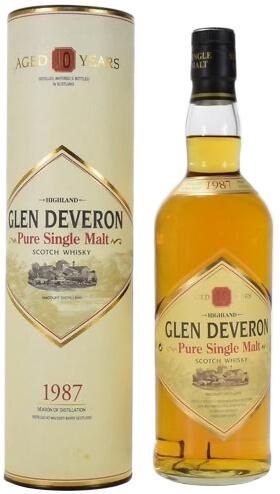 1987 Glen Deveron Single Malt фото