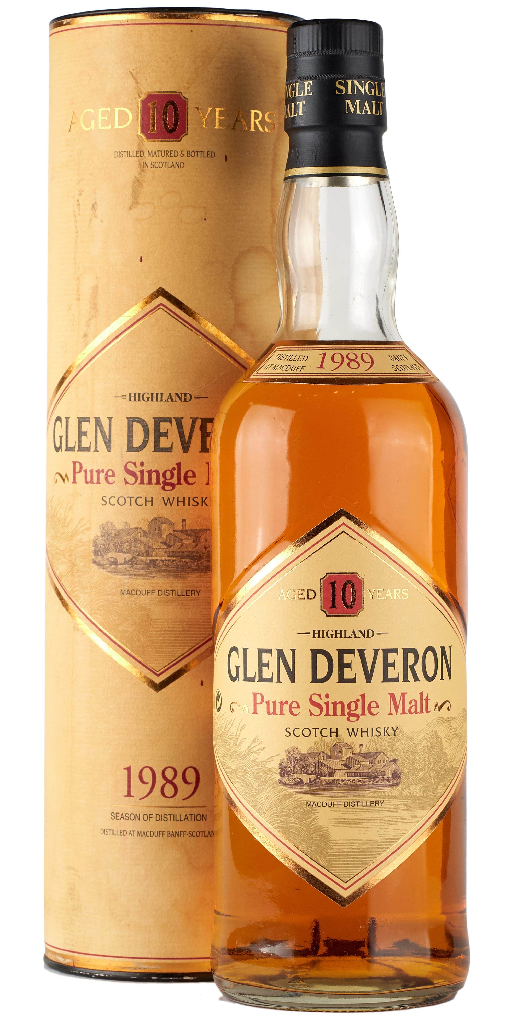 1989 Glen Deveron Single Malt фото