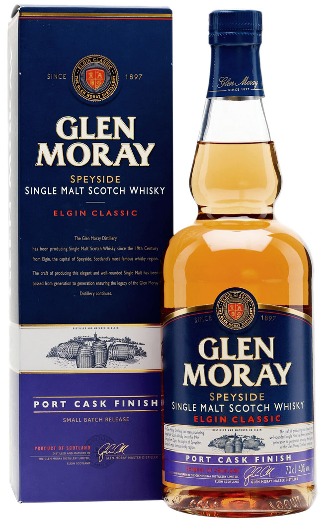 Glen Moray Port Cask Finish 15 Years Old фото