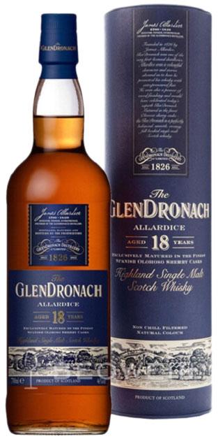 Glendronach Allardice 18 Years Old фото
