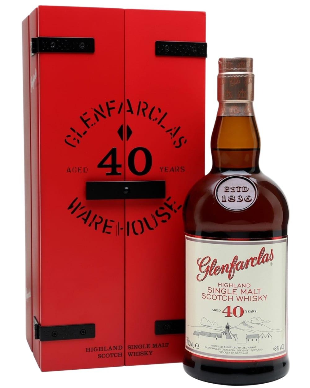 Glenfarclas 40 Years Old Release 2016 фото